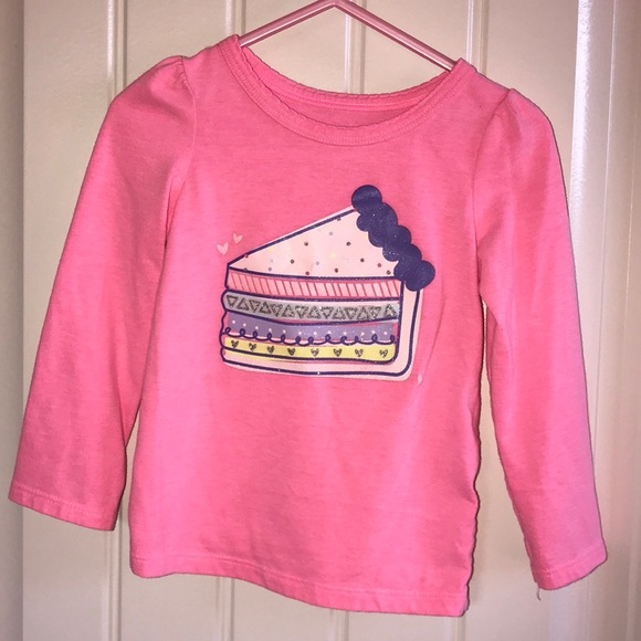 Circo Other - Pink Long Sleeved Cake Shirt by Circo